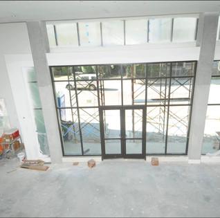 Lobby Construction Process