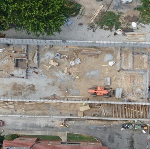 Working Progress Drone Shot