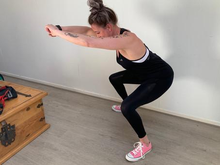 5 x billen en benen trainen met een elastiek
