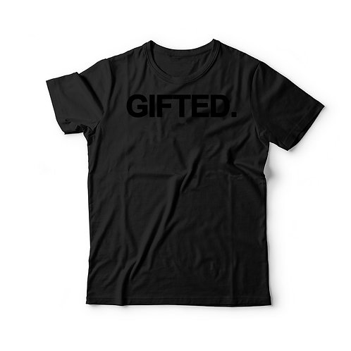 GIFTED. T-Shirt (BLACK)