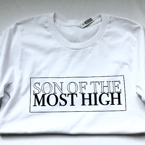 Son of The Most High T-Shirt (White)