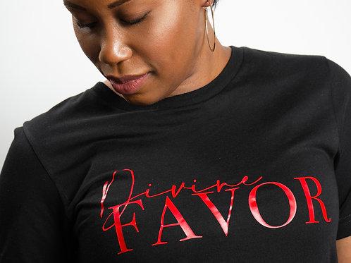"Divine Favor T-Shirt (Black) ""Special Edition"""
