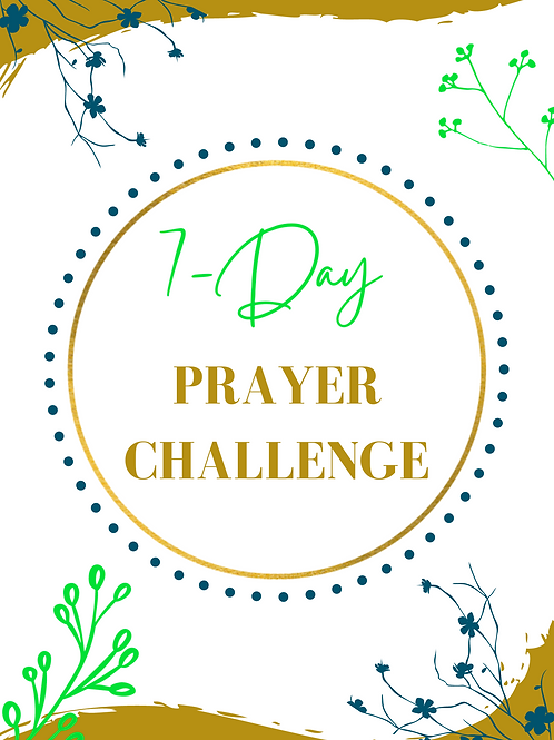 7-Day Prayer Challenge Ebook (Strategic Prayers for your New Year)