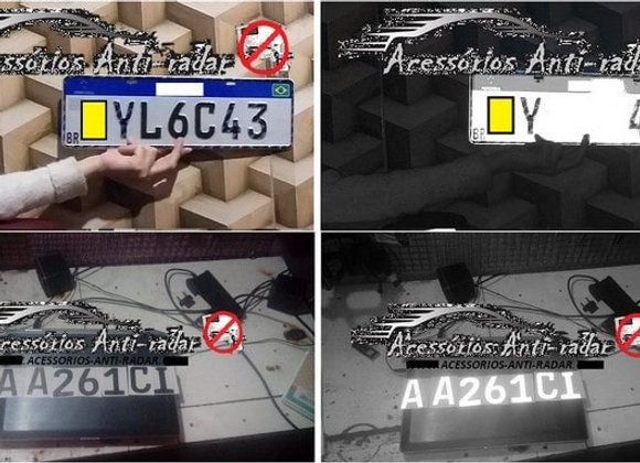 14 Adesivos Anti-Radar (02 placas)