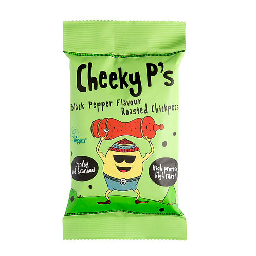 Cheeky P's Black Pepper Chickpeas (12 bags)