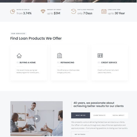 Addendum - Mortgage Company WordPress Elementor Theme