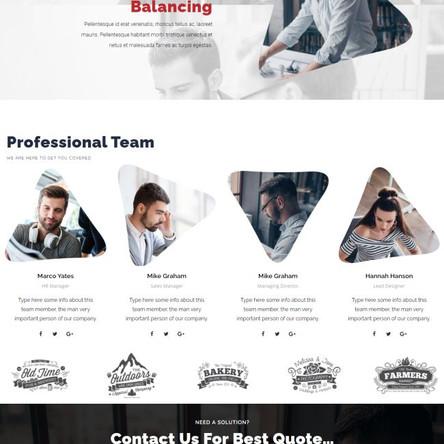 Moreno - Modern Business WordPress Theme