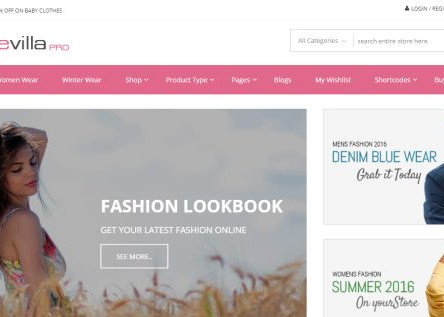 StoreVilla Pro WordPress WooCommerce Theme
