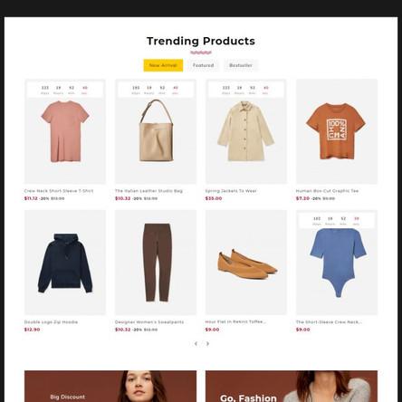 Mango Fashion - PrestaShop Theme for Online Fashion Store