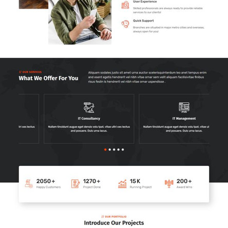 Technology & IT Solution Services WordPress Theme