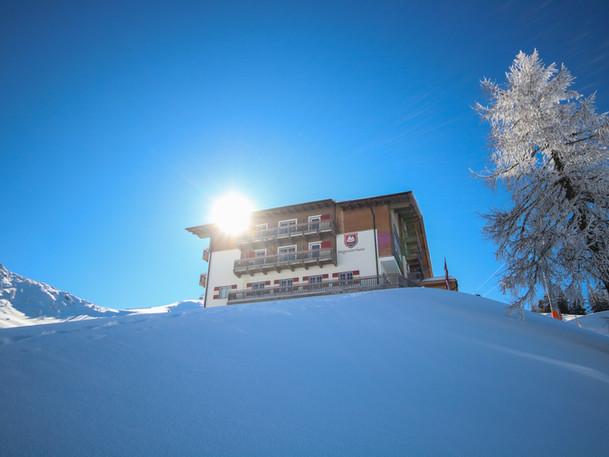 Aussenansicht Wagrainer Haus Winter