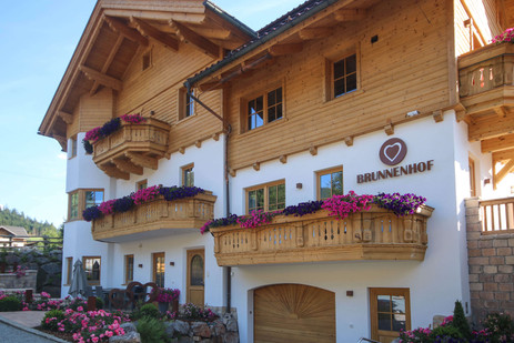 Brunnenhof Summer Exterior View