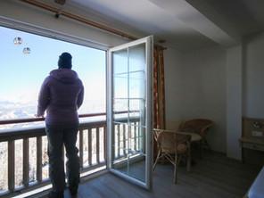 Aussicht Zimmer Wagrainer Haus