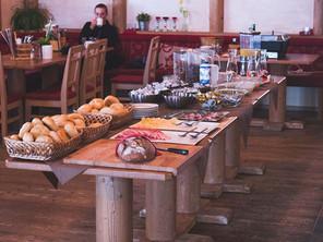 Frühstücksbuffet Wagrainer Haus