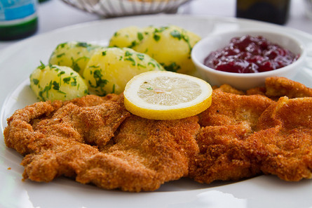 Wiener Schnitzel im Adlerhorst genießen