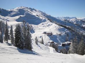 Bergpanorama Winter Wagrainer Haus
