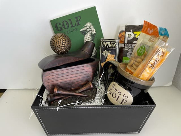 """Fathers Day """"Golf Basket 2021"""" Small"""
