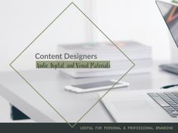 Graphic Artists/Designers