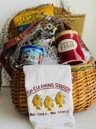 Father's Day Fishing Basket 2021