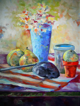 Ladle and Pears