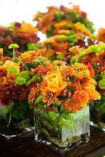 Bouquet Orange et Vert
