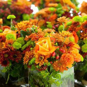 floral Mittelstücke
