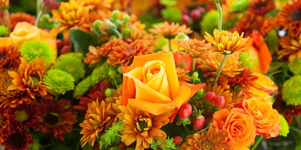 Blossoms & Brew-Fall Centerpiece (Oct. 17)