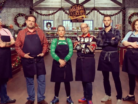 NACHO IS BACK AT THE HOLIDAY BAKING CHAMPIONSHIP
