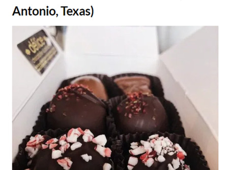 BEST CHOCOLATE SHOP IN ALL OF TEXAS!