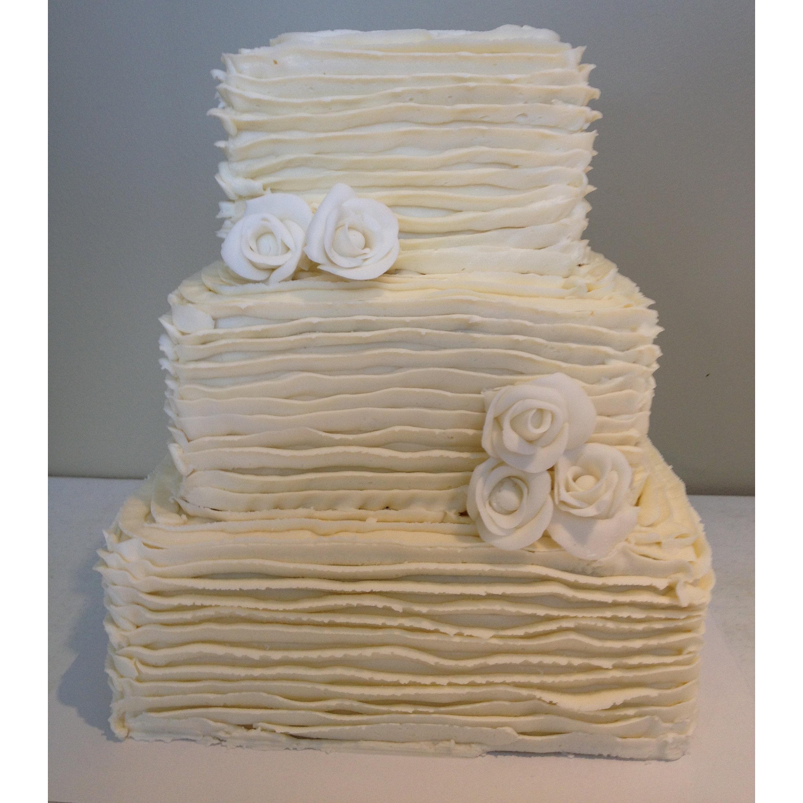 Tier Chocolate Wedding Cake