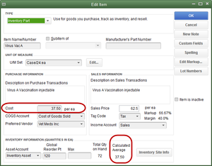 QuickBooks Enterprise and Inventory Cost and Price Updates