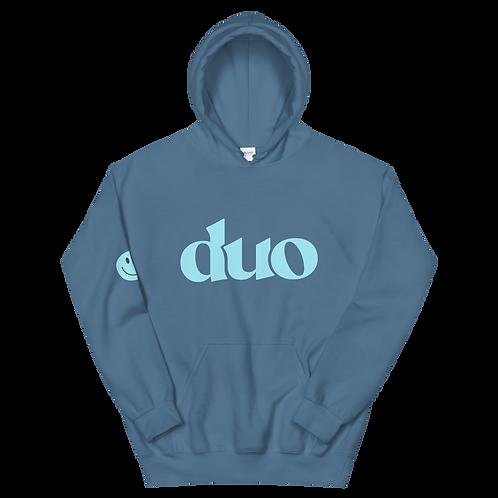 original duo hoodie: blue