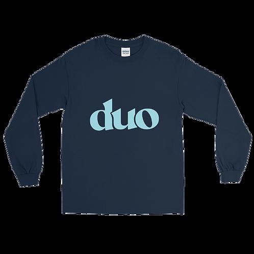 classic duo long sleeve: blue