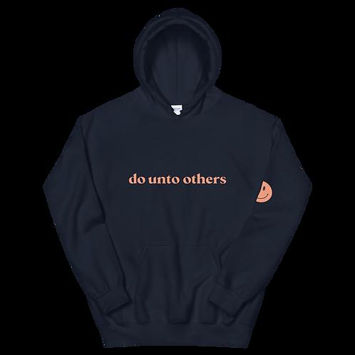 do unto others hoodie: orange
