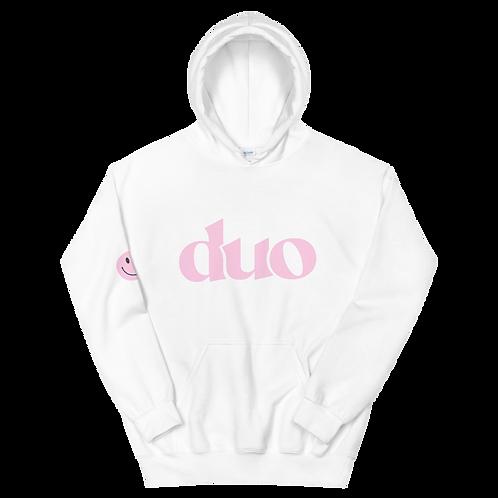 original duo hoodie: pink