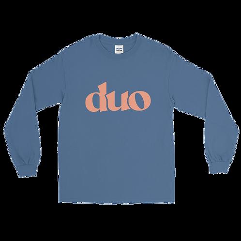 classic duo long sleeve: orange