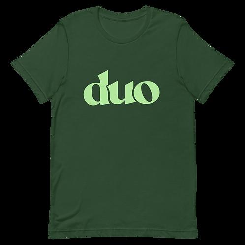 original duo tee: green
