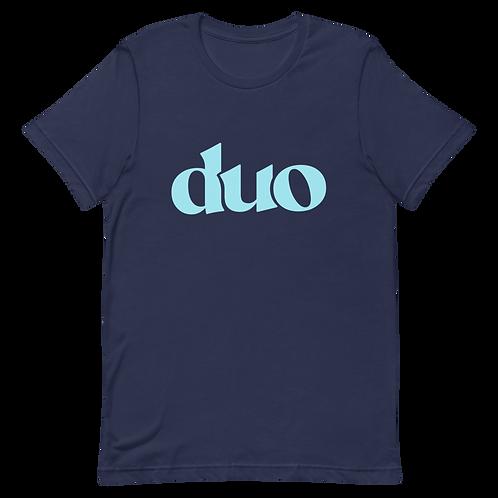 classic duo tee: blue
