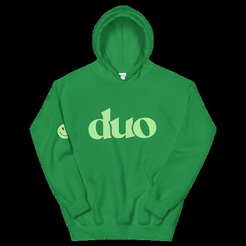 original duo hoodie: green