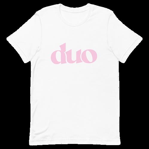 original duo tee: pink