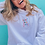 Thumbnail: vent about joy- embroidered hoodie