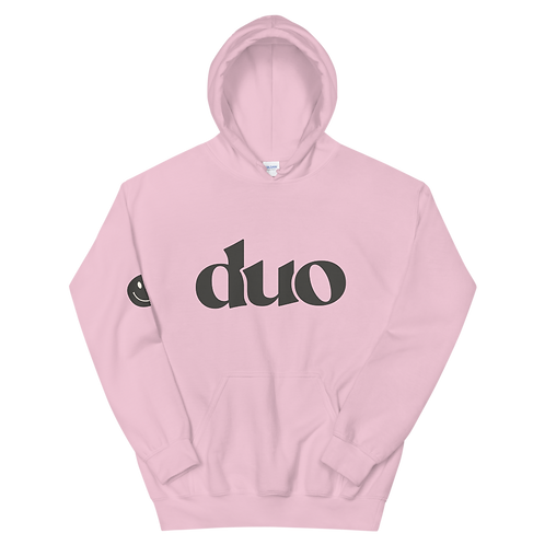 original duo hoodie: charcoal