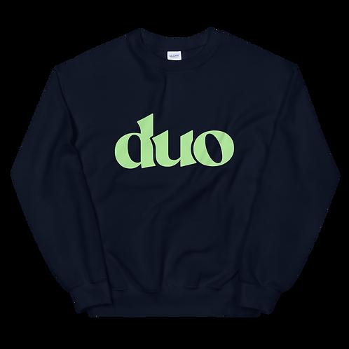 original duo crewneck: green