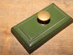 Military Green Block Paperweight