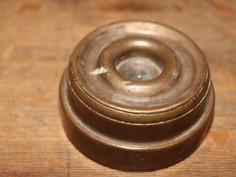 Brass Circular Paperweight