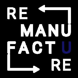 Logo Remanufacture blanc