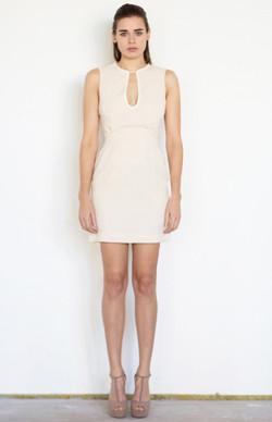 Champagne short dress