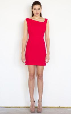 Persian pink short dress