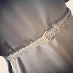 Silver grey short dress