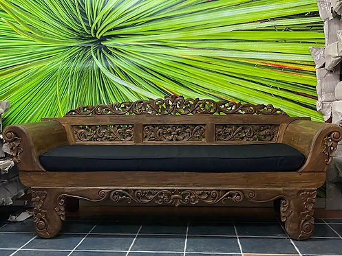 Antique Teak Daybed Natural